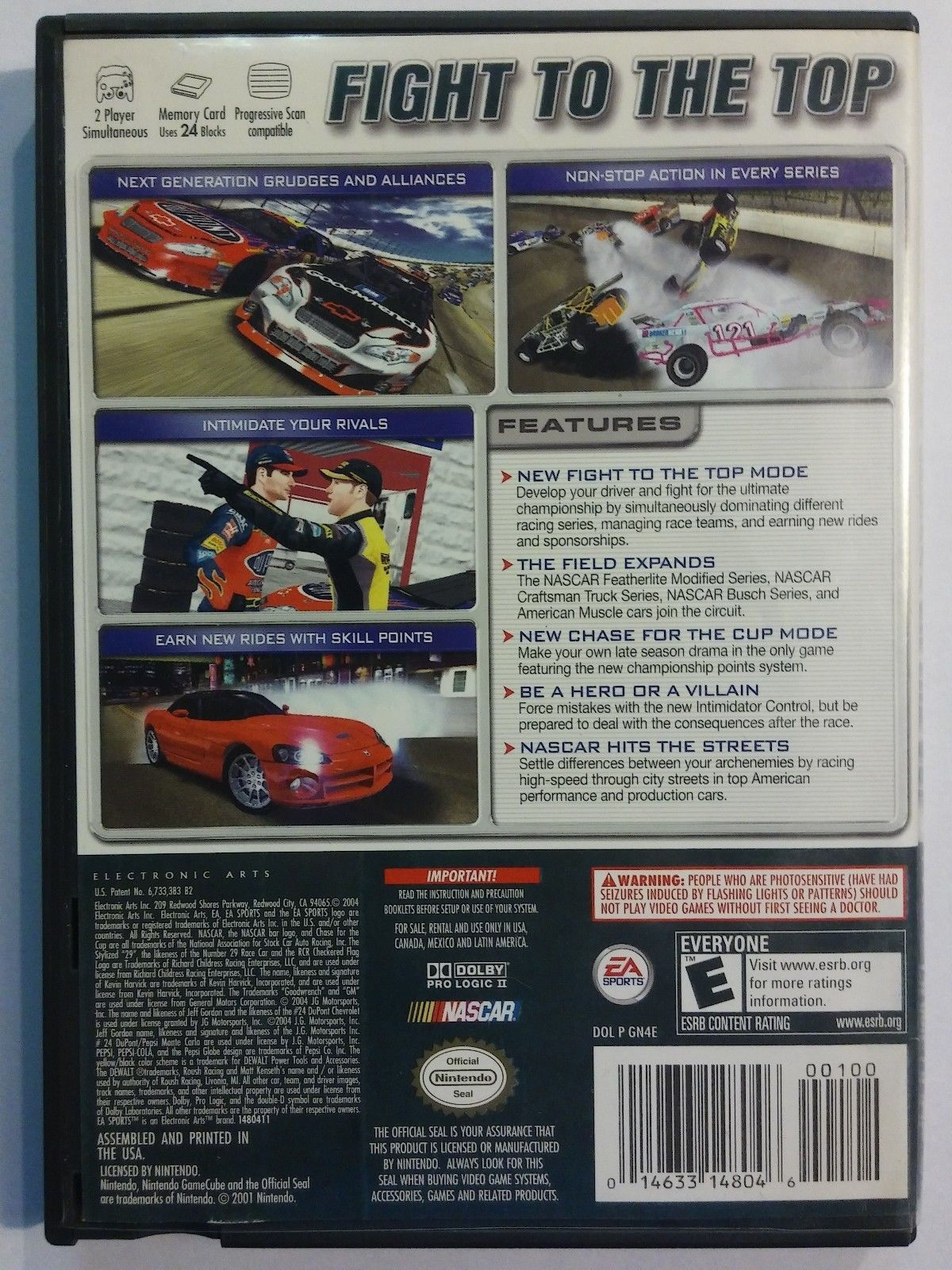 NASCAR 2005: Chase for the Cup [Nintendo GameCube, 2004] wii racing driving game image 3