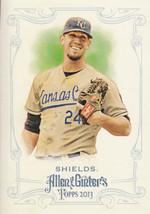 James Shields 2013 Topps Allen & Ginter Card #270 - $0.99