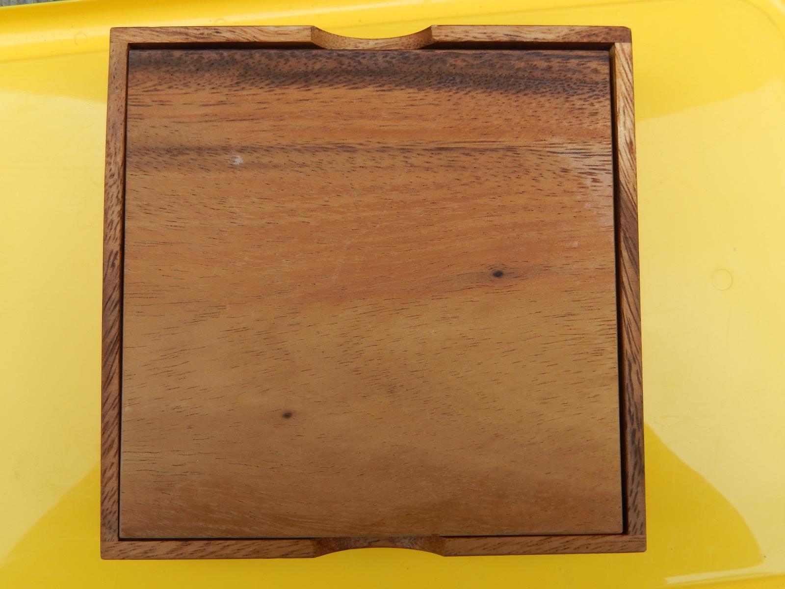 Wood Travel Reusable Sudoku Game