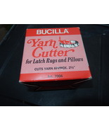 Bucilla yarn cutter for latch rugs and pillows  1  thumbtall