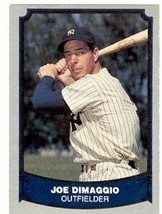 Joe Dimaggio baseball card (New York Yankees) 1988 Pacific #100 - $4.00