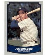 Joe Dimaggio baseball card (New York Yankees) 1988 Pacific #100 - $4.00