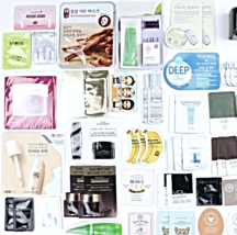 Korean Beauty Samples 60-Piece Foil Packet Sample Bag Innisfree Tonymoly... - $74.00