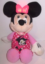 "Disney - 13"" Talking Minnie Mouse - Figero Pajamas -Works! - $26.14"