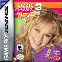 Lizzie McGuire 3 Homecoming Havoc [Game Boy Advance] - $3.47