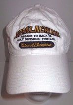 Appalachian - NCAA - 2005 & 2006 Back To Back - National Champions - Hat - $34.55