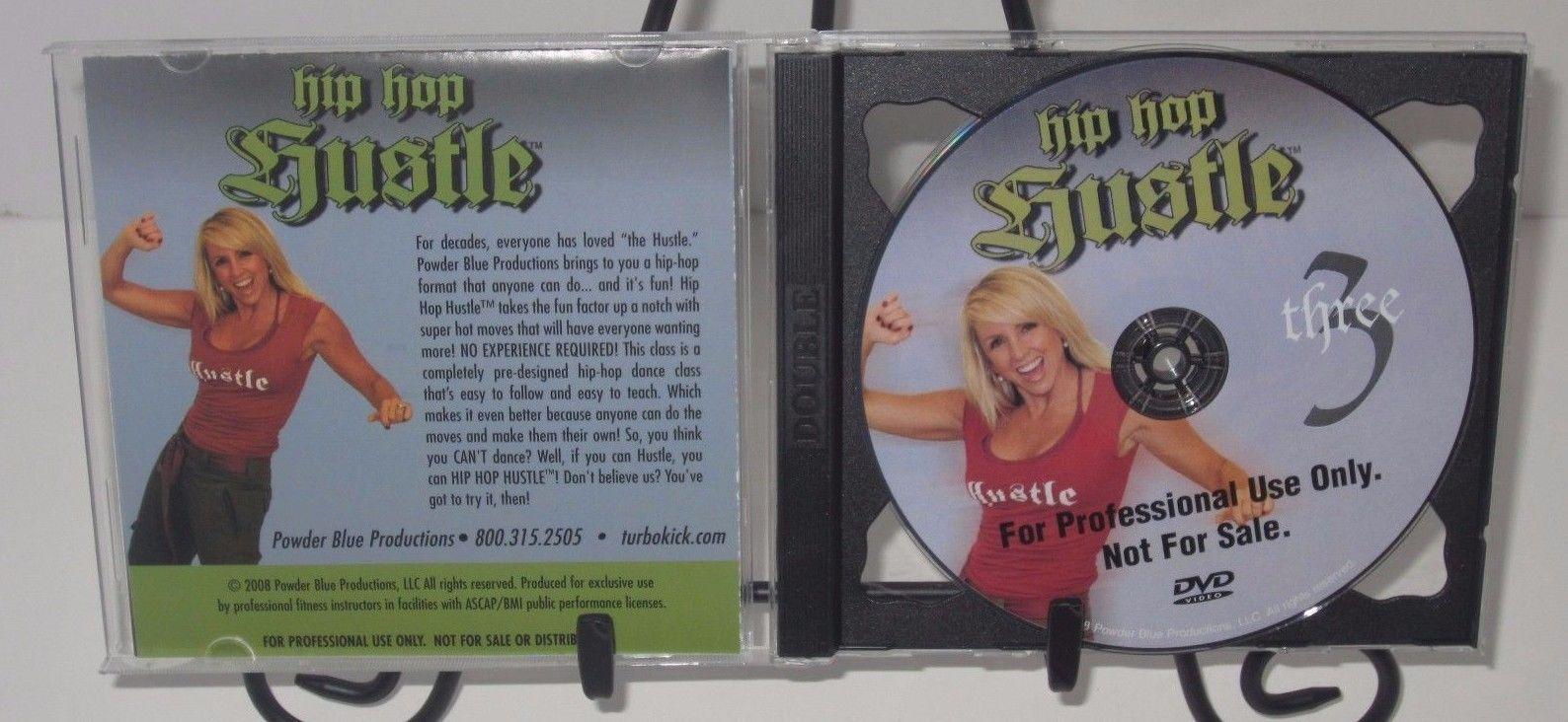 HIP HOP HUSTLE Vol. 3 Workout DVD - Chalene Johnson - Powder Blue Productions!