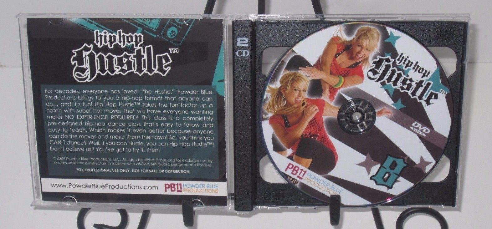 HIP HOP HUSTLE Vol. 8 Workout DVD - Chalene Johnson - Powder Blue Productions!