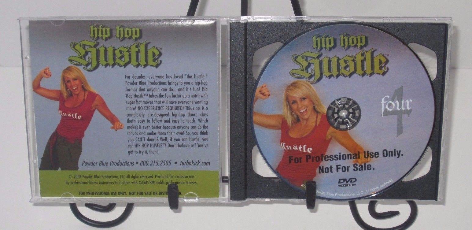 HIP HOP HUSTLE Vol. 4 Workout DVD - Chalene Johnson - Powder Blue Productions!