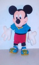 Disney 13 inch 1999 lights and sounds Jazz shoes Mickey Mouse - $16.95