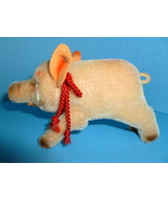 Vintage Steiff Toy Pig Stuffed Animal Germany - $125.00