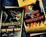 (Used) Frankenstein Meets the Wolf Man / House of Frankenstein DVD /Artwork/Case