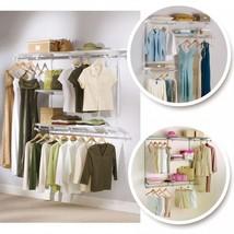 Classic Closet Configurations Custom Wardrobe Storage Organizer Cupboard... - $103.50