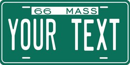 Massachusetts 1966 Personalized Tag Vehicle Car Auto License Plate - $16.75