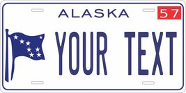 Alaska 1957 Personalized Tag Vehicle Car Auto License Plate - $16.75