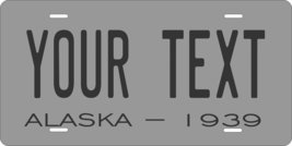 Alaska 1939 Personalized Tag Vehicle Car Auto License Plate - $16.75