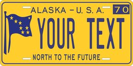 Alaska 1970 Personalized Tag Vehicle Car Auto License Plate - $16.75
