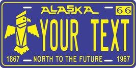 Alaska 1966 Personalized Tag Vehicle Car Auto License Plate - $16.75
