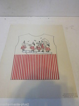 VINTAGE 1970'S GRAPHIC ARTWORK SAMPLE BY GUILD CRAFT CORP CARTOON BAND O... - $9.99