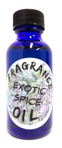 Exotic Spice - 1 Ounce Blue Glass Bottle of Premium Grade Skin Safe Fragrance... image 1