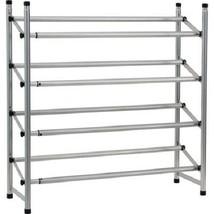 Shoe Boot Rack Storage Organizer Metal Closet Cabinet Space Saver Stand ... - $29.98