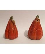 Cracker Barrel Mini Salt and Pepper Shaker Set Pumpkins Gourds - $5.93