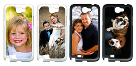 Personalized Photo Samsung Galaxy Note II 2 Custom Picture on Hard Case Cover - $15.95