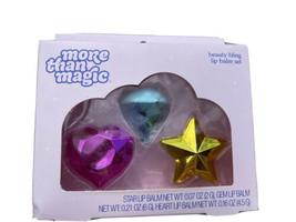 More Than Magic Beauty Bling Lip Balm 3 Piece Gift Set NEW - $10.79
