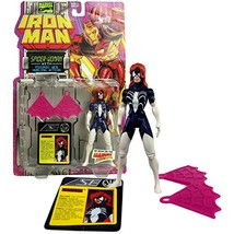 Year 1994 Marvel Comics Iron Man Series 5 Inch Tall Action Figure : Spid... - $42.99