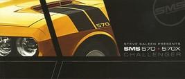 2009/2010 Saleen SMS 570 X sales brochure folder Challenger 09 INTRO - $12.00