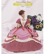 Violet, Annie's Glorious Gowns Flower Garden Doll Clothes Crochet Patter... - $9.95