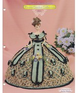 Aster, Annie's Glorious Gowns Flower Garden Crochet Doll Clothes Pattern... - $9.95