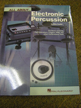 All About Electronic Percussion   Book - $12.86