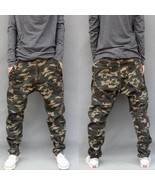 Camouflage Harem Jeans Military Outdoors Joggers 2018 New Baggy Camo Har... - $28.86