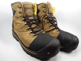 Keen Milwaukee Waterproof Sz 10.5 2E WIDE EU 44 Insulated Steel Toe Work Boots