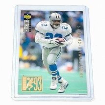 Emmitt Smith Upper Deck Collector's Choice 1993 Images #38 Nmnt - $2.33
