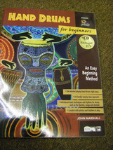 Hand Drum For Beginners   Book - $12.86