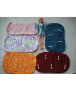 This Set of Crochet Barbie Blanket with Beads and More-Free Shipping. - $30.00