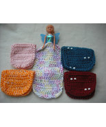 This Set of Crochet Barbie Blanket with Beads and More-Free Shipping. - $25.00