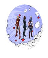 Avenger1A-Digital Immediate Download-ClipArt-Ar... - $3.00