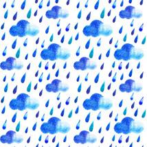 5 Watercolor Rain Drops -Digital Immediate Down... - $3.00