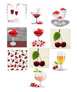 10 Heart Shaped Wine Glasses-Digital Immediate Download-Heart Shaped-Win... - $6.00