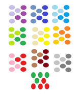 10 Scallop Circles-Digital Immediate Download-C... - $5.00