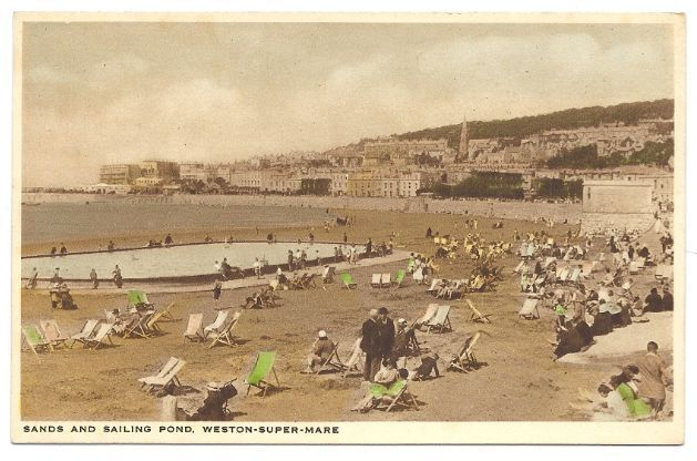 Weston Super Mare United Kingdom  city photo : ... Sands & Pond Weston Super Mare United Kingdom Unused Canada