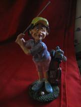 "Doug Harris Resin Figurine ""Caution: Woman Driver..."" #100695 - $5.86"