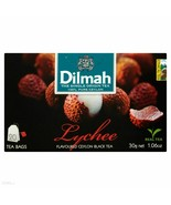 Dilmah LYCHEE tea- 20 tea bags- Made in Germany FREE US SHIPPING - $8.90