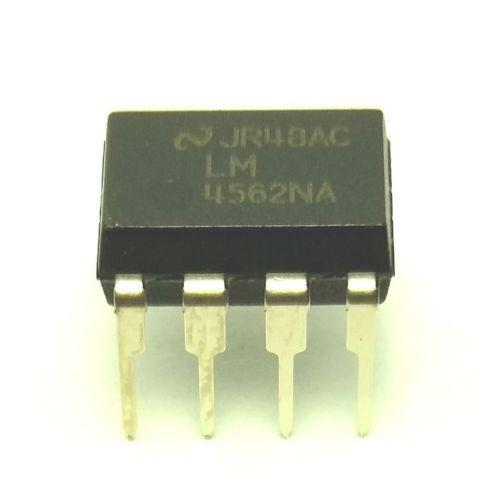 National Semiconductor LM4562NA LM4562 4562 Dual OpAmp DIP-8 (Pack of 10)