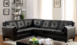 Illintsi Sectional Sofa Upholstered In Leatherette With 2 Pillows - $1,386.00