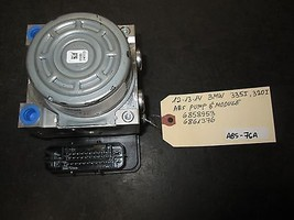 12 13 14 BMW 335i 320i ABS PUMP & MODULE #6858953/6861376 *See item* - $272.25