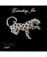 Eisenberg Ice Leopard Pin on Original Hang Card (Inventory #J769) - $48.00